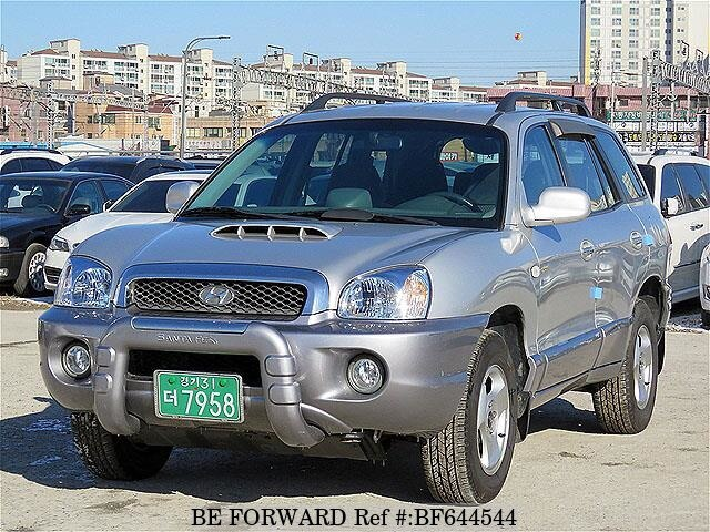 Used 2002 HYUNDAI SANTA FE GOLD for Sale BF644544 - BE FORWARD