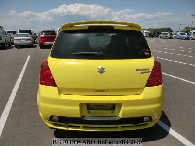 used 2007 suzuki swift sports cba zc31s for sale bf643999 be forward. Black Bedroom Furniture Sets. Home Design Ideas