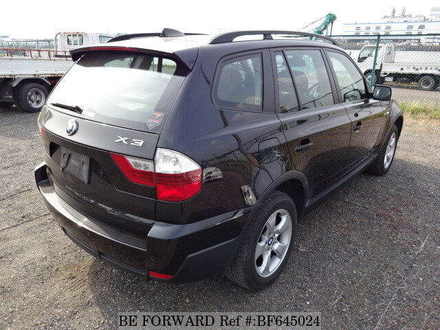 used 2008 bmw x3 2 5si aba pc25 for sale bf645024 be forward. Black Bedroom Furniture Sets. Home Design Ideas