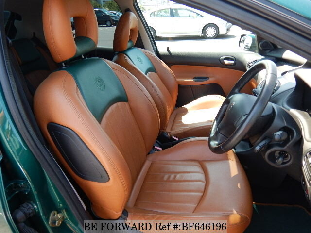 Used 2004 PEUGEOT 206 ROLAND GARROS/GH-T16RG for Sale BF646196 - BE ...