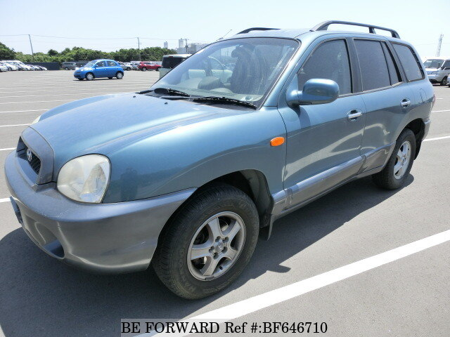 Used 2002 Hyundai Santa Fe Gls Gf Sm27 For Sale Bf646710 Be Forward