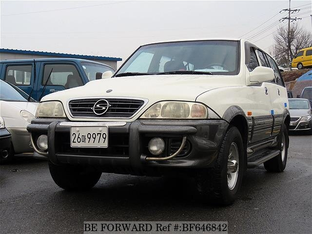 Used 2002 SSANGYONG MUSSO BF646842 for Sale