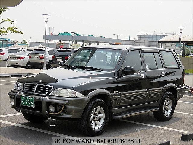 Used 2003 SSANGYONG MUSSO BF646844 for Sale