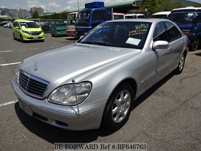 Used 2001 Mercedes Benz S Class S430 Gf 220070 For Sale Bf646763