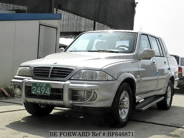 Used 2004 SSANGYONG MUSSO BF646871 for Sale