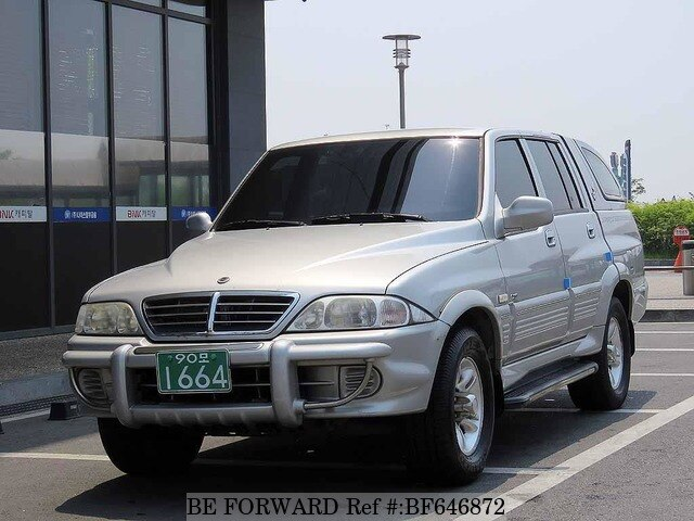 Used 2004 SSANGYONG MUSSO BF646872 for Sale