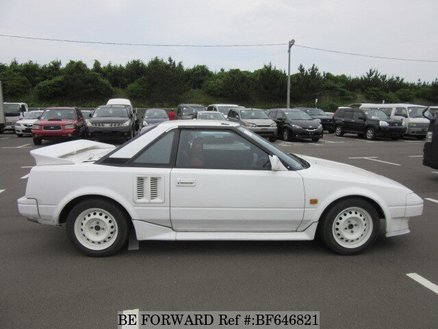 used 1985 toyota mr2 e aw11 for sale bf646821 be forward. Black Bedroom Furniture Sets. Home Design Ideas