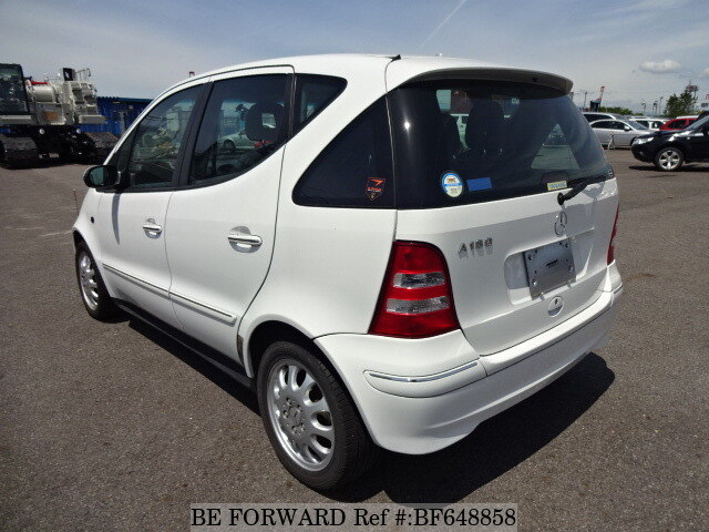 used 2004 mercedes benz a class a160 elegance gh 168033 for sale bf648858 be forward. Black Bedroom Furniture Sets. Home Design Ideas