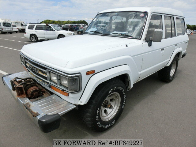 Used 1988 TOYOTA LAND CRUISER BF649227 for Sale