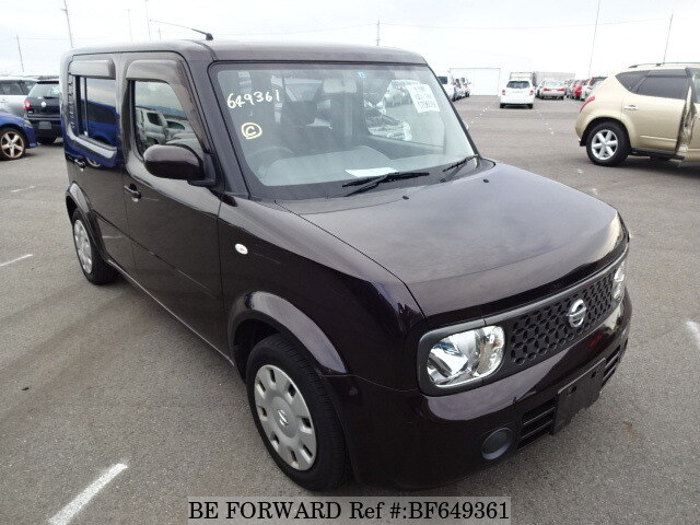 2007 nissan cube cubic 15m dba ygz11 d 39 occasion en promotion bf649361 be forward. Black Bedroom Furniture Sets. Home Design Ideas