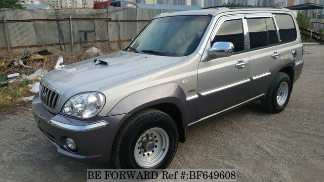 2001 hyundai terracan jx290 d 39 occasion en promotion bf649608 be forward. Black Bedroom Furniture Sets. Home Design Ideas