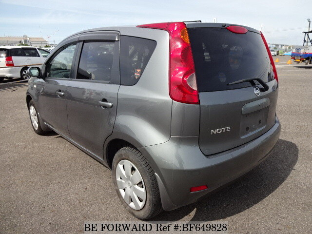 used 2010 nissan note 15x dba e11 for sale bf649828 be forward. Black Bedroom Furniture Sets. Home Design Ideas