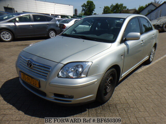 used 2004 toyota avensis for sale bf650309 be forward. Black Bedroom Furniture Sets. Home Design Ideas