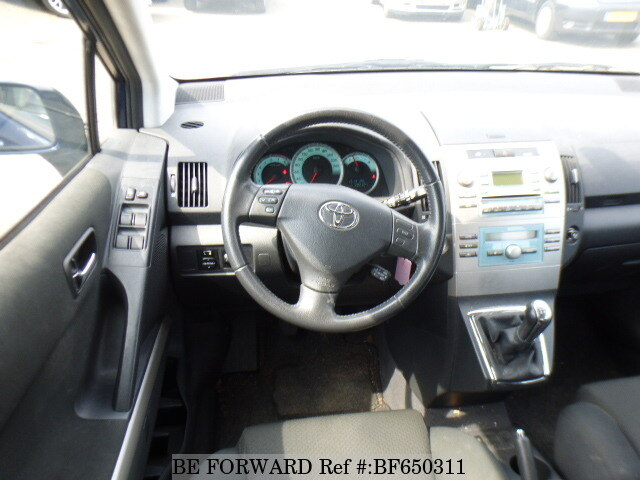 used 2005 toyota corolla verso for sale bf650311 be forward. Black Bedroom Furniture Sets. Home Design Ideas