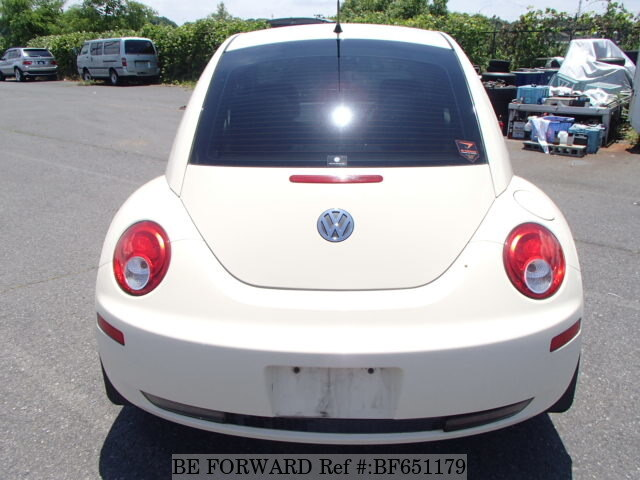 Used 2008 VOLKSWAGEN NEW BEETLE/ABA-9CBFS for Sale BF651179 - BE FORWARD