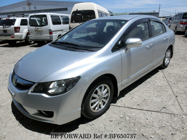Used 2010 HONDA CIVIC HYBRID BF650737 For Sale