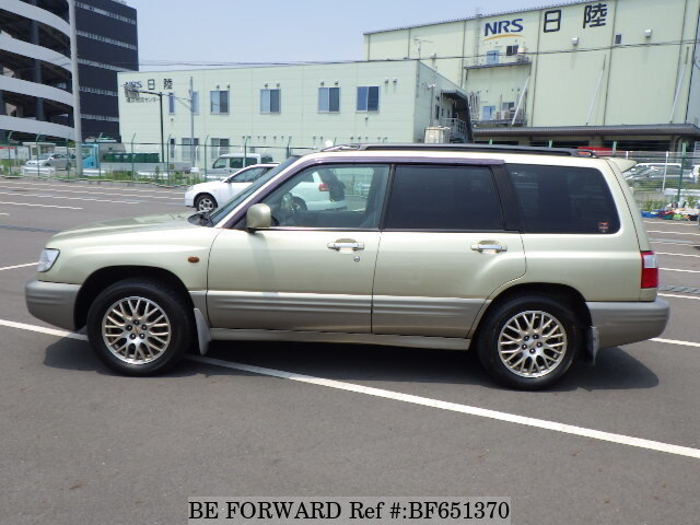 used 2000 subaru forester t 25 gf sf9 for sale bf651370 be forward. Black Bedroom Furniture Sets. Home Design Ideas