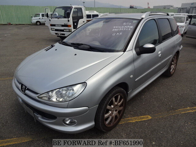 used 2004 peugeot 206 sw/gh-2eknfu for sale bf651990 - be forward