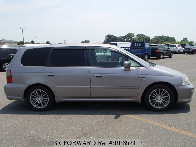 used 2003 honda odyssey absolute la ra6 for sale bf652417 be forward. Black Bedroom Furniture Sets. Home Design Ideas