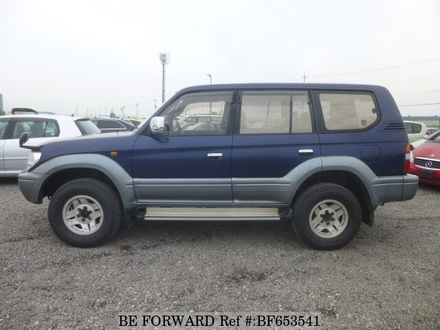 used 1996 toyota land cruiser prado tx kd kzj95w for sale. Black Bedroom Furniture Sets. Home Design Ideas