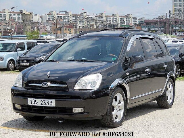 used 2007 kia carens limited for sale bf654021 be forward. Black Bedroom Furniture Sets. Home Design Ideas