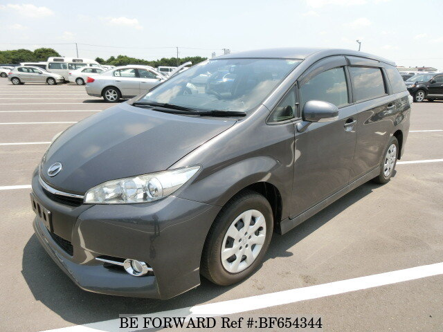 Used 2015 Toyota Wish Dba Zge20g For Sale Bf654344 Be Forward