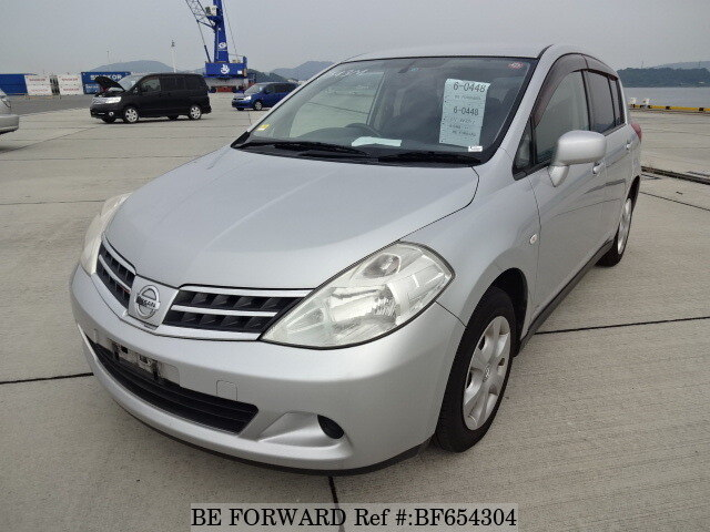 Used 2008 NISSAN TIIDA 15M/DBA-C11 for Sale BF654304 - BE FORWARD