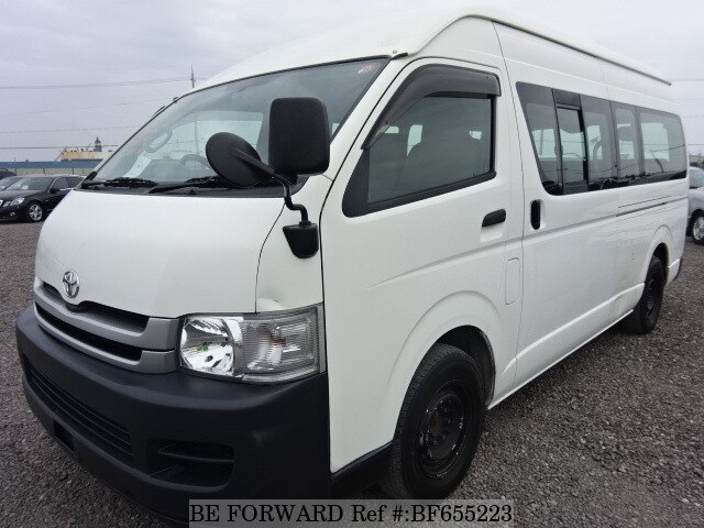 Used 2005 TOYOTA HIACE COMMUTER BF655223 for Sale