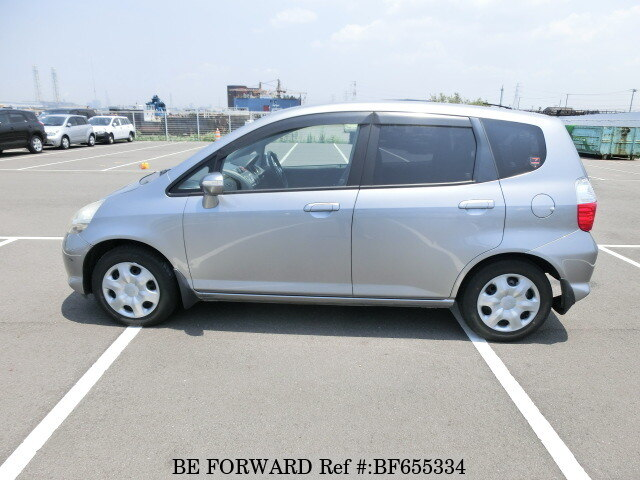 used 2006 honda fit 1 3a dba gd1 for sale bf655334 be forward. Black Bedroom Furniture Sets. Home Design Ideas