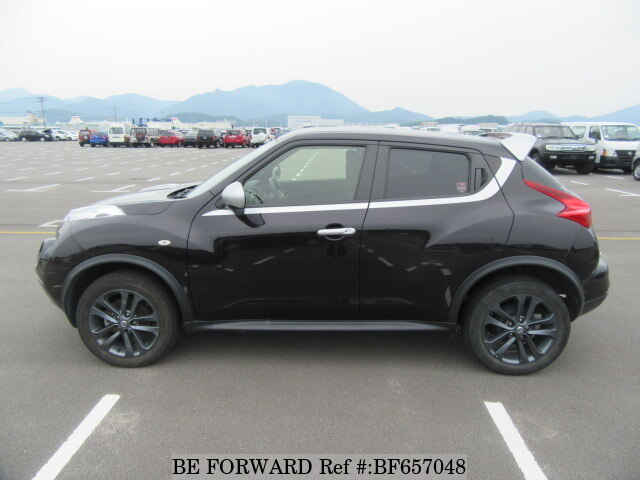 2013 Nissan Juke Tire Size >> Used 2013 NISSAN JUKE 15RX PERSONALIZE PACKAGE/DBA-YF15 for Sale BF657048 - BE FORWARD