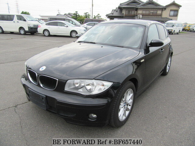 Used 2005 BMW 1 SERIES 118I/GH-UF18 for Sale BF657440 - BE FORWARD