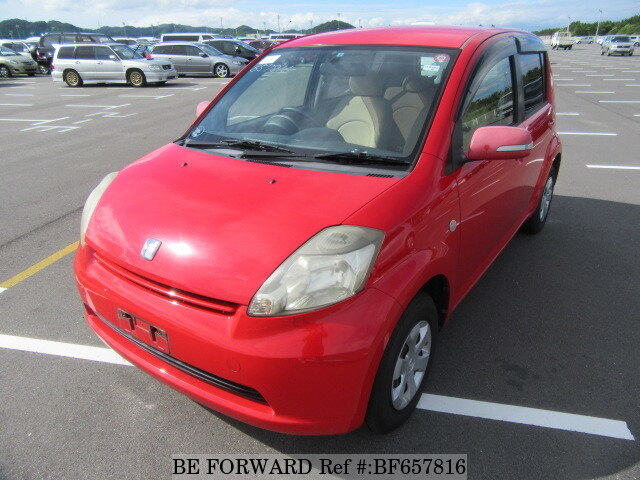 Used 2004 TOYOTA PASSO BF657816 for Sale
