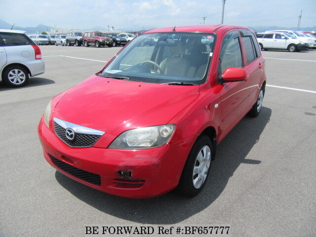 Used 2002 MAZDA DEMIO BF657777 for Sale