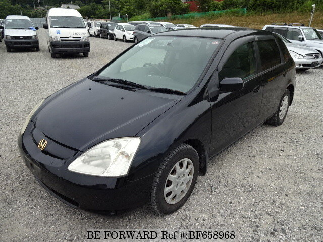Used 2002 HONDA CIVIC BF658968 For Sale Image ...
