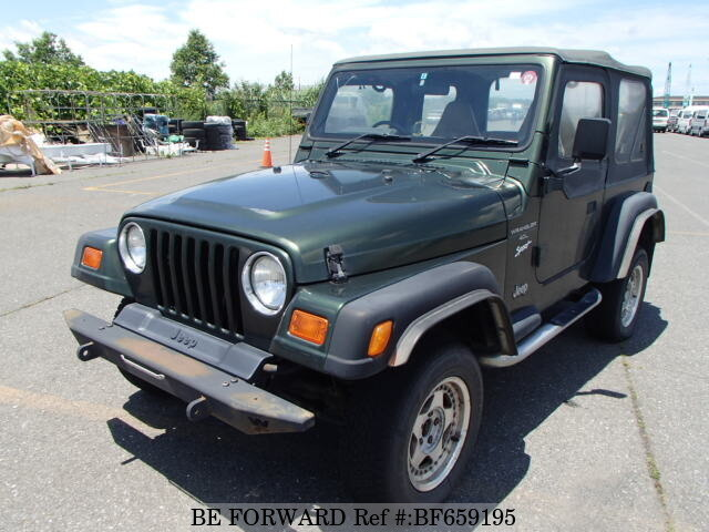 Used 1997 JEEP WRANGLER BF659195 For Sale