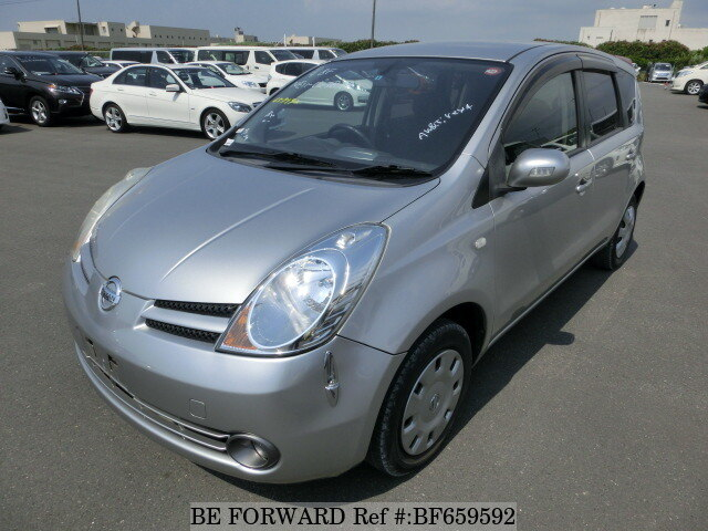 Used 2006 Nissan Note 15e Fourdba Ne11 For Sale Bf659592 Be Forward