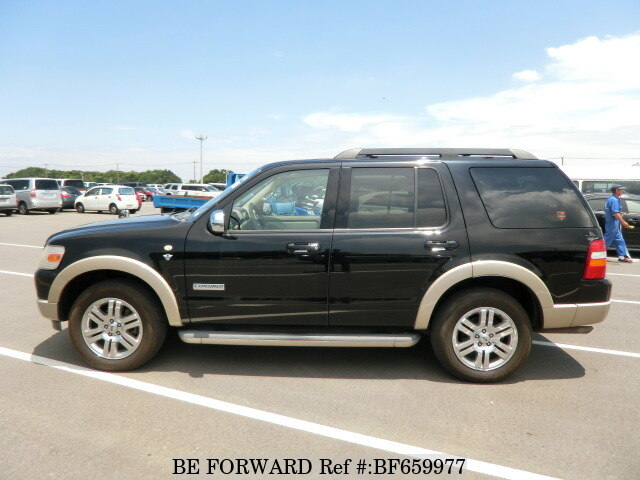 used 2008 ford explorer 4 6 eddie bauer aba 1fmwu74 for sale bf659977 be forward. Black Bedroom Furniture Sets. Home Design Ideas