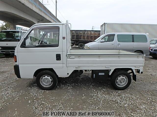 used 1992 honda acty truck sdx v ha3 for sale bf660007 be forward. Black Bedroom Furniture Sets. Home Design Ideas