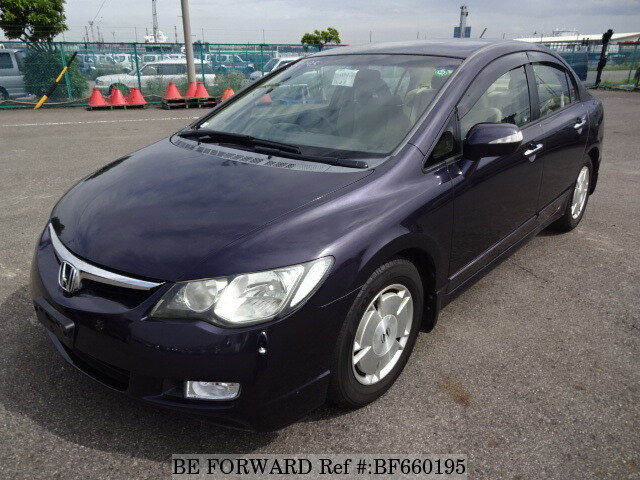 Used 2005 HONDA CIVIC HYBRID BF660195 For Sale