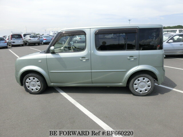 used 2004 nissan cube cubic sx ua bgz11 for sale bf660220 be forward. Black Bedroom Furniture Sets. Home Design Ideas