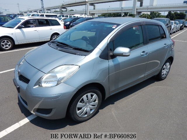 Used 2010 TOYOTA VITZ/DBA-SCP90 for Sale BF660826 - BE FORWARD