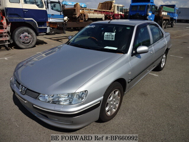 Used 2002 PEUGEOT 406/GF-D9V for Sale BF660992 - BE FORWARD