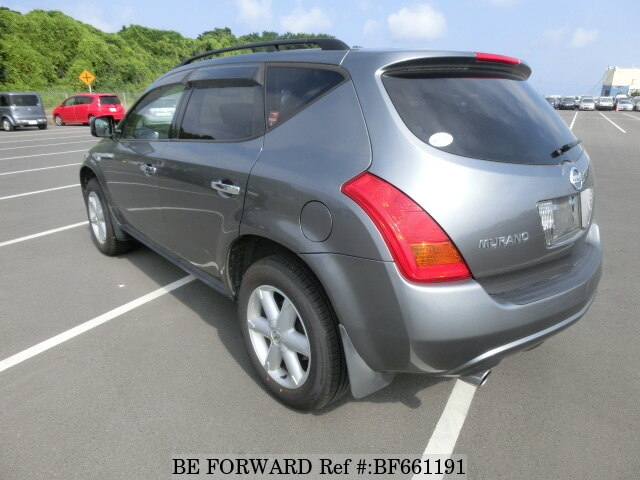 used 2004 nissan murano 350xv four cba pnz50 for sale bf661191 be forward. Black Bedroom Furniture Sets. Home Design Ideas