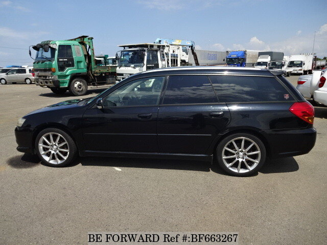 used 2004 subaru legacy touring wagon 2 0gt spec b ta bp5 for sale bf663267 be forward. Black Bedroom Furniture Sets. Home Design Ideas
