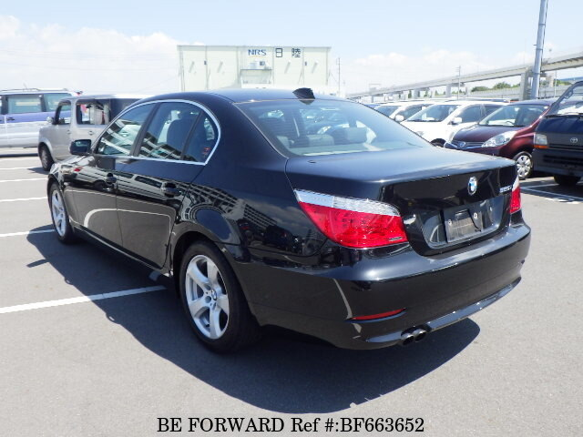Used 2009 Bmw 5 Series 525i Highline Package Aba Nu25 For Sale Bf663652 Be Forward