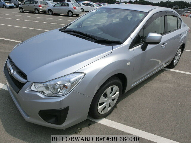 Used 2012 SUBARU IMPREZA G4 BF664040 for Sale