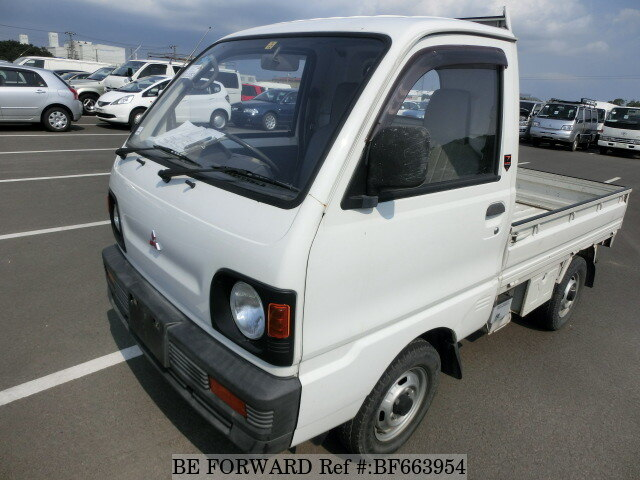 Used 1993 MITSUBISHI MINICAB TRUCK BF663954 for Sale