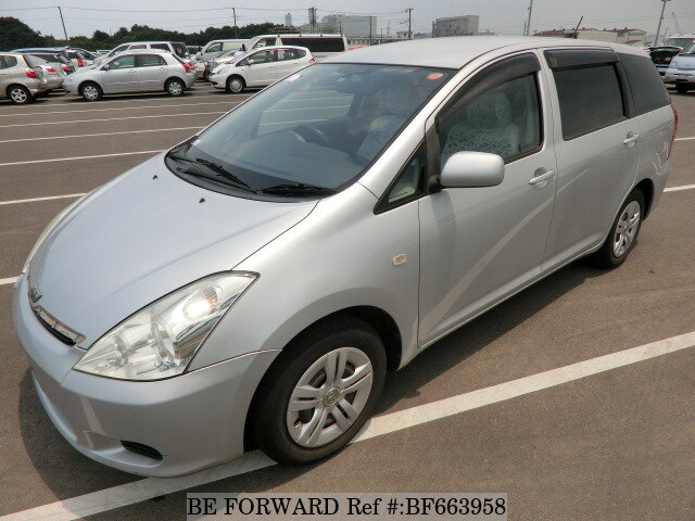 Used 2005 TOYOTA WISH BF663958 for Sale