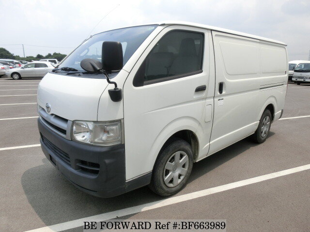 Used 2005 TOYOTA REGIUSACE VAN BF663989 for Sale