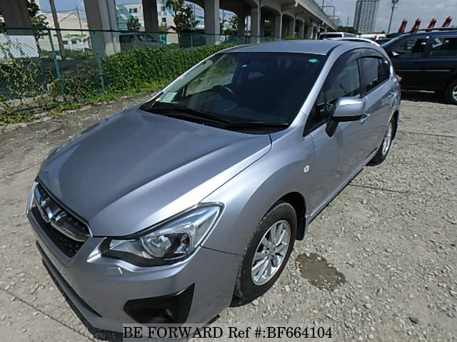 Used 2014 SUBARU IMPREZA SPORTS BF664104 for Sale